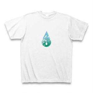 しずく柄Tシャツ