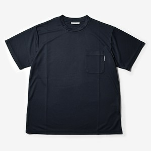 MMA Solid Pocket Tee (Black)