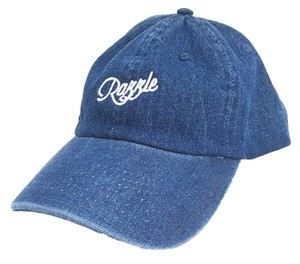 RAZZLE / Logo Ball Cap / DENIM