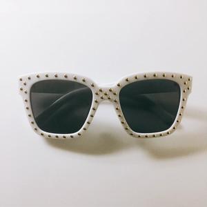 【送料無料◇即納】Eyewear♡ウェリントン01 ホワイト