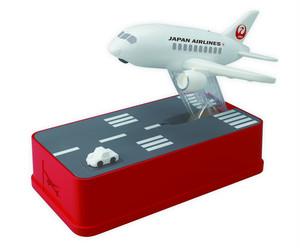 飛行機貯金箱 JAL <Aviation coin bank JAL version>