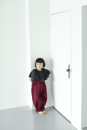 ワイン MLサイズ long pants with suspenders
