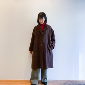 C-60138  Felting Wool Chester Coat