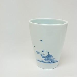 創作唐子 花瓶 B(前うちわ)