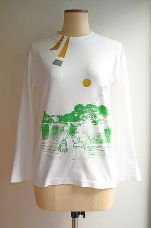 NO.481 吉祥寺井の頭公園のロングTシャツ【東京都】