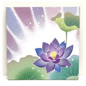 原画 『紫の蓮』