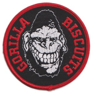 """GORILLA BISCUITS """"Face"""" Patch"""