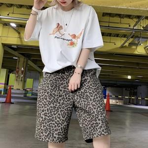 【即納】韓国ファッション Paragraph エンジェルロゴTee