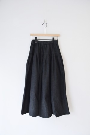 【ORDINARY FITS】BALL SKIRT ONEWASH/OF-K011OW