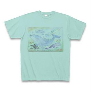 【通販限定】オリジナルジパングアクアTシャツ(アクア)【描き下ろしデザイン】