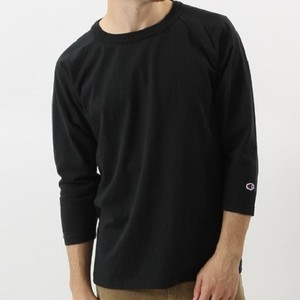 "Champion / チャンピオン | T1011 USA "" 3/4 RAGLAN SLEEVE "" - Black"