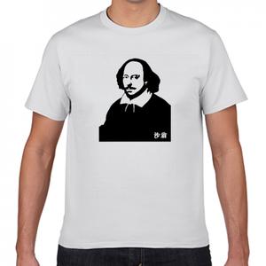 シェイクスピア イングランド 文豪 歴史人物Tシャツ034