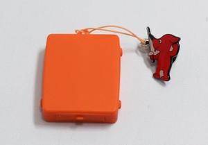 """触感時計""""タックタッチ"""" ストラップ型 ピュア・オレンジ 針も文字板も表示も音も無い、触感(振動)で時刻を伝える全く新しい感覚の時計です。"""