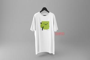 """飛鮫ナミ描き下ろしデザイン""""marimo[no]"""" vket-limited Tシャツ(ホワイト)"""
