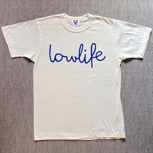 LOWLIFE Tシャツ アイボリー