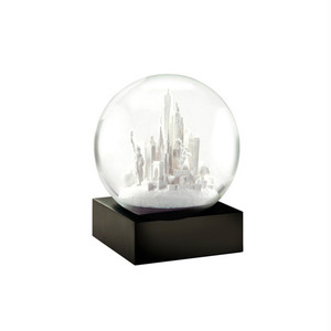 """Cool Snowglobes """"NYC White"""""""