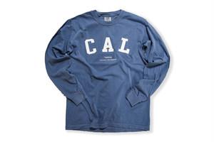 "【""CAL"" vintage long sleeve】/ navy"