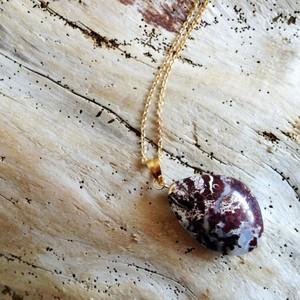 Lady 自然石のネックレス