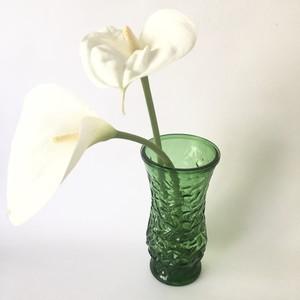 vintage Flower vase Green