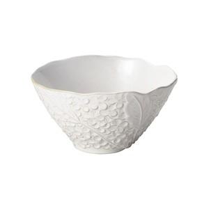「リアン Lien」サラダ&フルーツボウル 皿 直径約18×深さ17cm L ホワイト 美濃焼 267821