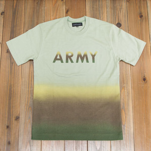 COOCHUCAMP : Happy Gradation T-shirt / Khaki
