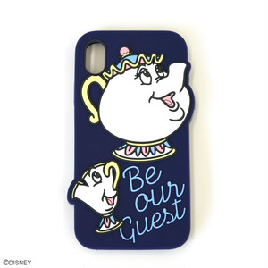 DISNEY/SILICONE iPhone XRケース YY-D058 PU