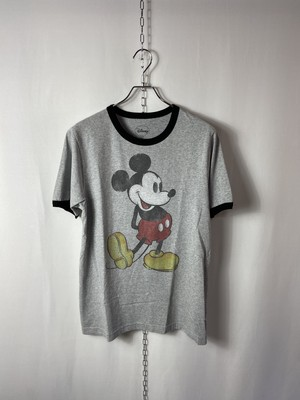 """【USED】 Character T-shirt """"Mickey Mouse"""""""