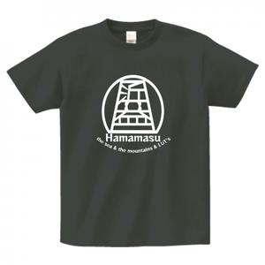 浜T―浜益オリジナルロゴ入りTシャツ