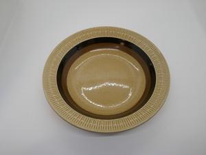 Gefle/ゲフレ・Terra/テラ ベージュのスープボウル (欠けあり)