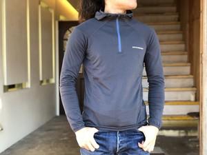 [ZEROGRAM]Trail Hoodie Lite T-shirts