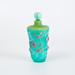 りす唐草模様 香水瓶