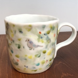小鳥マグカップ