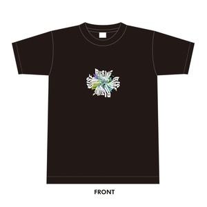 黒川侑司(from ユアネス)×周南RISING HALL/LIVE rise コラボTシャツ 「warp」Tシャツ