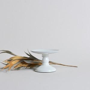 rpm /  高杯(たかつき) 平なり 白妙【B】〈陶器 / 食器 / お皿 / コンポート / ケーキスタンド / アクセサリー 〉