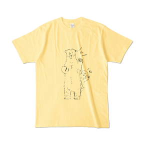 よっTシャツ イエロー