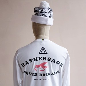 Hathersage Squid Brigade - Long Sleeve Pocket T.Shirt