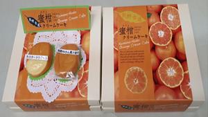 熊野古道蜜柑クリームケーキ
