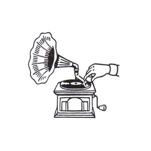 レコードをかけて Gramophone