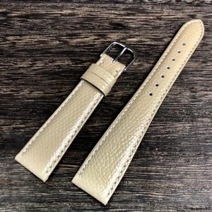 BAMBI ELCE エルセ カーフ シボレザー  ベージュ 18mm 腕時計ベルト