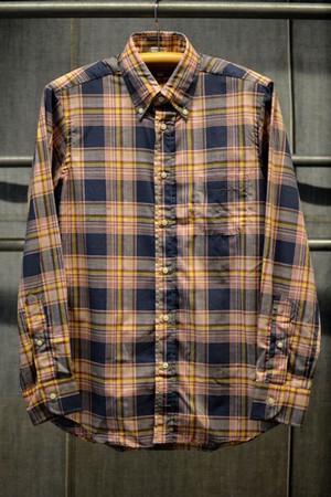 INDIVIDUALIZED SHIRTS マドラスチェックBDシャツ