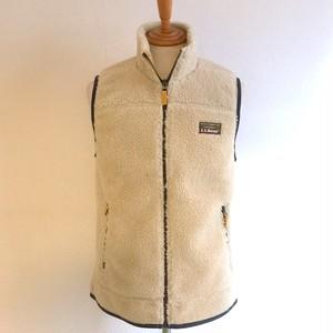 Mountain Pile Fleece Vest Natural