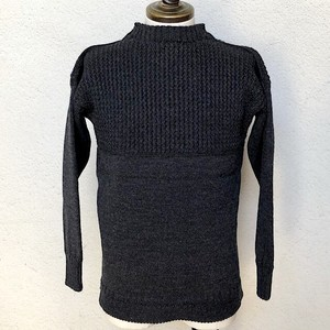 Guernsey Sweater Woollens Gray Made In England UK