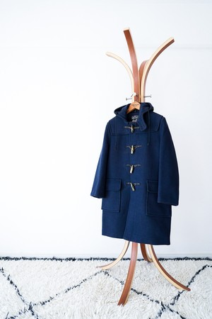 "【1970s】""Gloverall"" Wool Duffle Coat / v445"