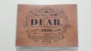 Hey! Say! JUMP LIVE TOUR 2016 DEAR. 通常盤 【DVD】