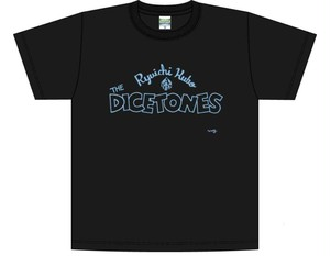 RYUICHI KUBO & THE DICETONES T-shirta col.blk