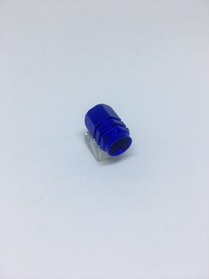 Aluminum Valve Hexagon Blue