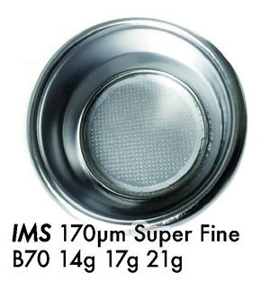 〔3個セット〕フィルターバスケット IMS Super Fine 超精密 複層 170µm リッジレス E61 14g 17g 21g
