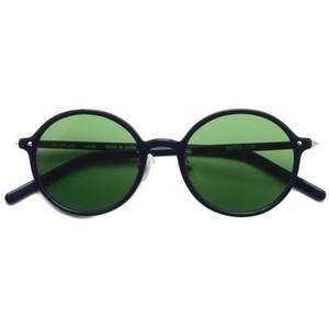BOSTON CLUB ボストンクラブ / AVI Sun / 04 Navy - Green Lenses ネイビー-グリーンレンズ ラウンドサングラス