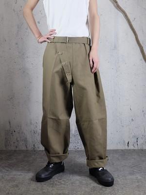 military rubberised pants