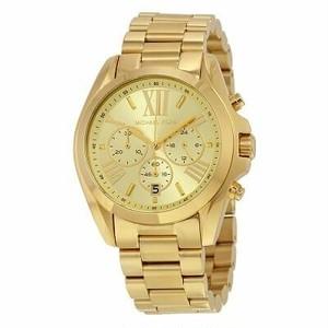 【カッコいい】正規品 Michael Kors マイケルコース BRADSHAW ブラッドショー 腕時計 レディース MK5605 ゴールド ステンレス クォーツ クロノグラフ
